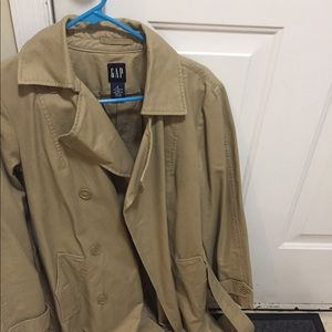 Belted trench coat new never worn